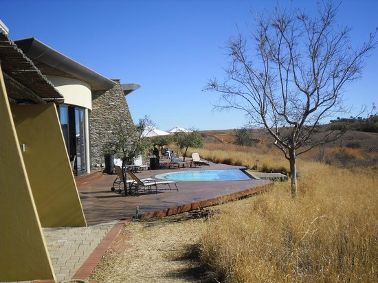 Maropeng Boutique Hotel: From the room