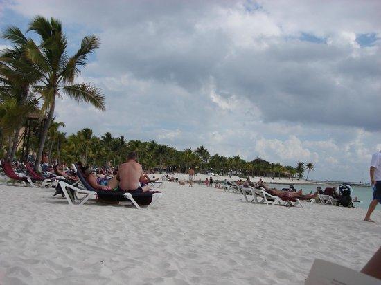 بارسيلو مايا بيتش: Un oasi caraibica!! 