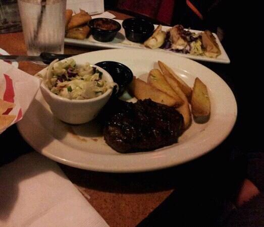 TGI Friday's: stake dinner
