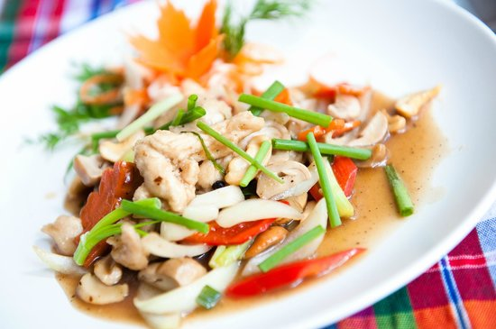 My place bar&restaurant: Chicken with cashew nuts