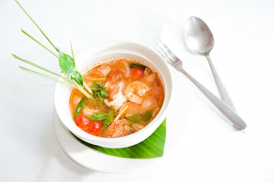 My place bar&restaurant: Tom Yam with shrimps