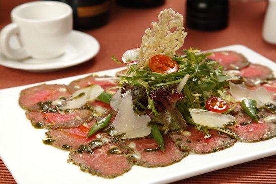 Le Restaurant (Inside Shenanbei Hotel): Carpaccio