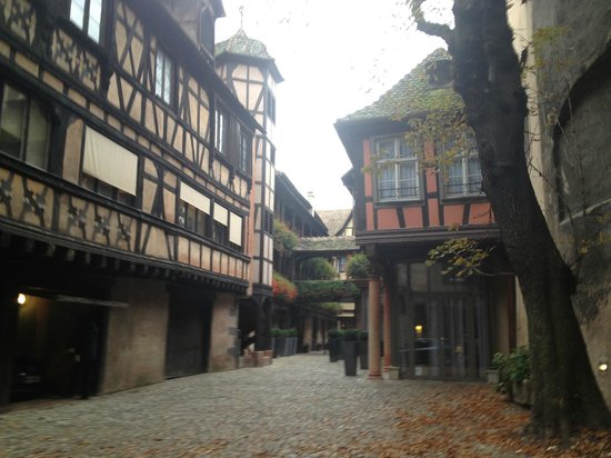 Hotel Cour du Corbeau Strasbourg - MGallery Collection: Courtyard