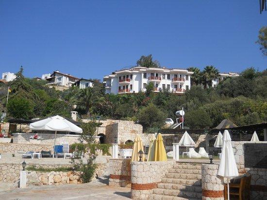 Aquarius Hotel : Veduta Hotel dalla spiaggia