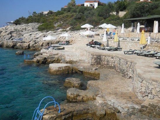 Aquarius Hotel : Spiaggia Hotel