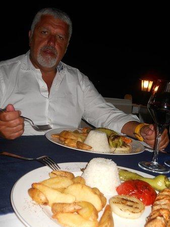 Aquarius Hotel : cena ristorante hotel