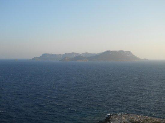 Aquarius Hotel : Panorama dall'hotel - isola greca Kastellorizo