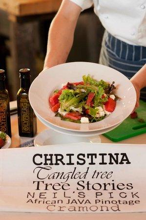 Van Loveren Family Cellar: Summer Salad at Christina's @ Van Loveren Bistro