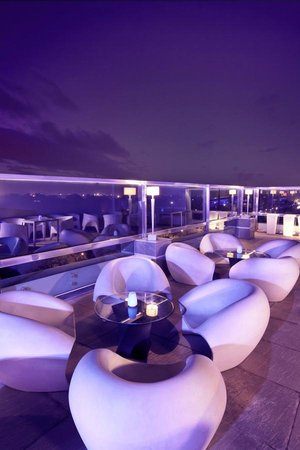 The Altius A Boutique Hotel: AIR Highest Rooftop Restaurant