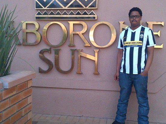AVANI Gaborone Resort & Casino: Letsholo, my son