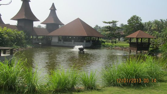 The Lalit Resort & Spa Bekal: central lawn area