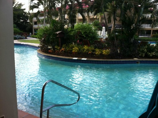 Sandals Grande St. Lucian Spa & Beach Resort: Swim Up room view room 6111