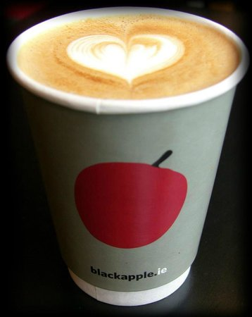 The Black Apple Cafe: Great coffee.