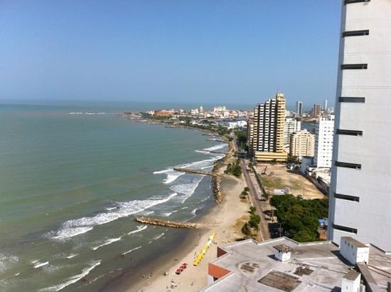 Decameron Cartagena: vista de Cartagena desde el decameron