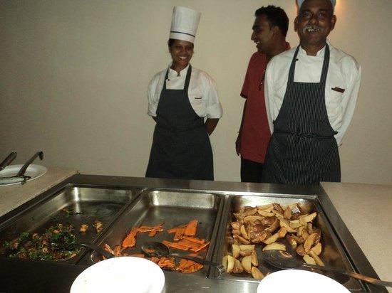 C Palmar Mauritius: Alcuni degli chef