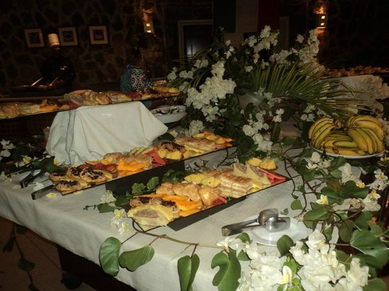 C Palmar Mauritius: il buffet di frutta e dolci