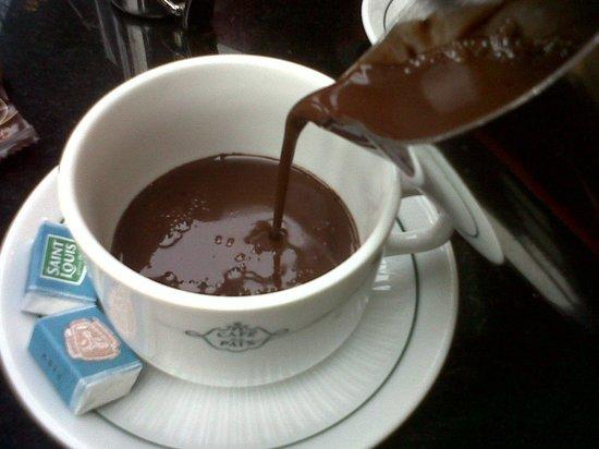 Café de la Paix : Hot chocolate