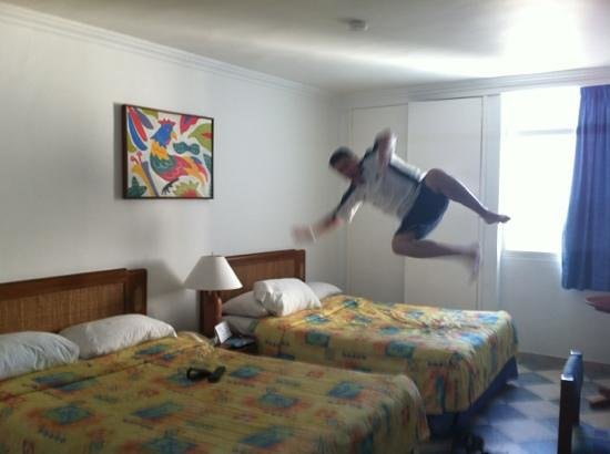 Decameron Cartagena: la habitación