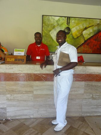 Bavaro Princess All Suites Resort, Spa & Casino: Jean et Tony - conseillers Marmara