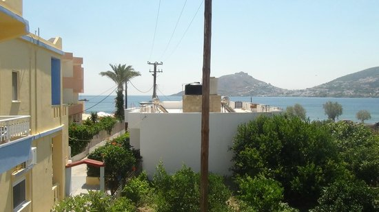 ApartHotel Papafotis : View from balcony