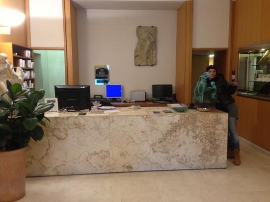 Hotel Palazzo Ognissanti: alla reception...