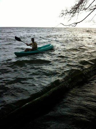 Hotel Monkey's Island Ometepe: Kayaking