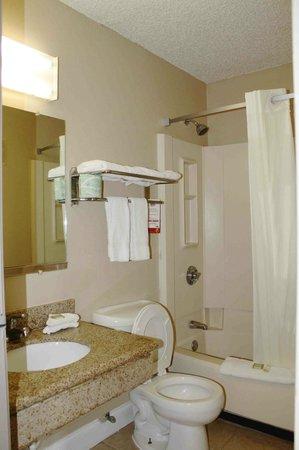Super 8 Lafayette LA : Bathroom