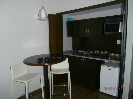 Regency Park Hotel + Spa: cocina de la habitación