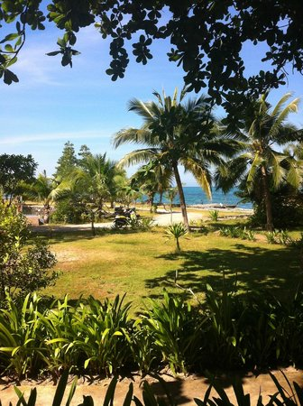Nang Nual Beach Resort: vue