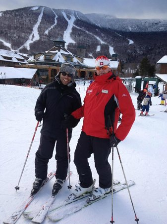Stowe Mountain Lodge: With ski instructor