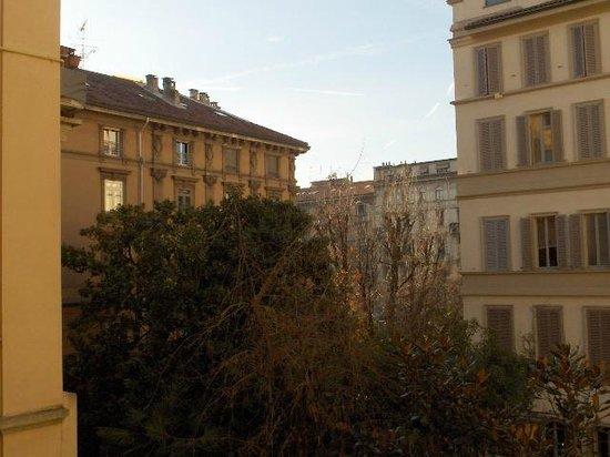 Atena Hotel: vista dal balcone della camera