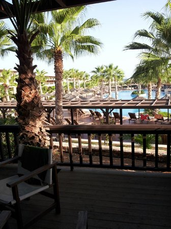 Stella Palace Resort & Spa: What a balcony and view !