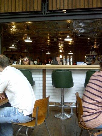 Gorilla: 1st Floor Dinning & Bar Area