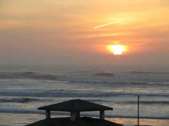 Hotel Blue Kaouki: coucher du soleil 