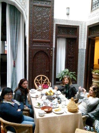 Riad Dar Cordoba: Colazione al riad
