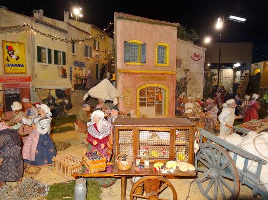 Village Provencal miniature : La boulangerie
