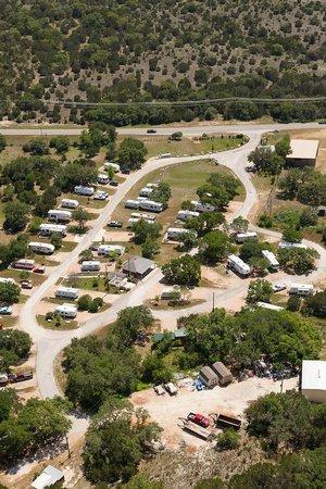 Sunset RV Resort: Aerial photo