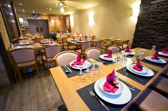 Hotel Les Edelweiss : salle resto