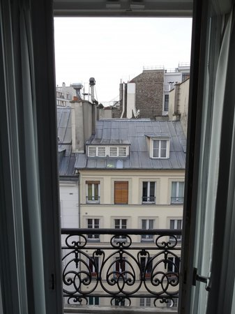 Hotel Le A: morning view