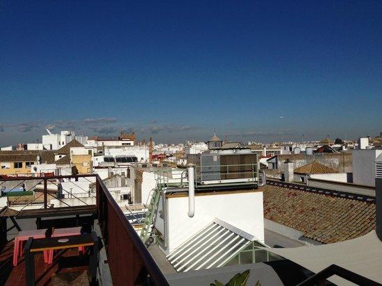 Casa Romana Hotel Boutique : Roof view