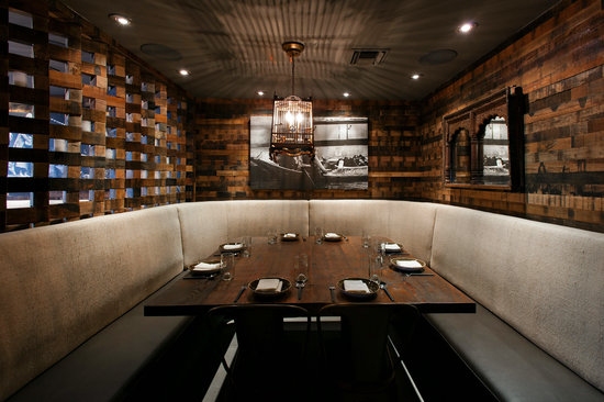 Gin bar picture of khong river house miami beach for Best private dining rooms miami