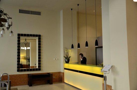 K+K Hotel Central: Recepción