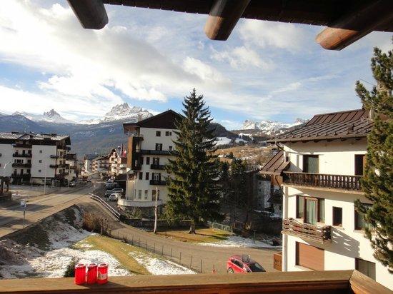 Hotel Natale : Вид с балкона номера