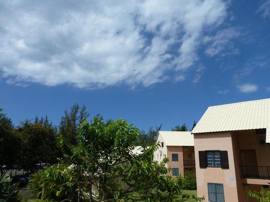Residence Tropic Appart'hotel: Vue côté mer de la terrasse du duplex