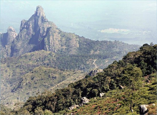 Kotagiri, Ấn Độ: Rangaswamy Peak and Pillar