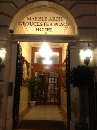 Marble Arch - Gloucester Place Hotel: the hotel