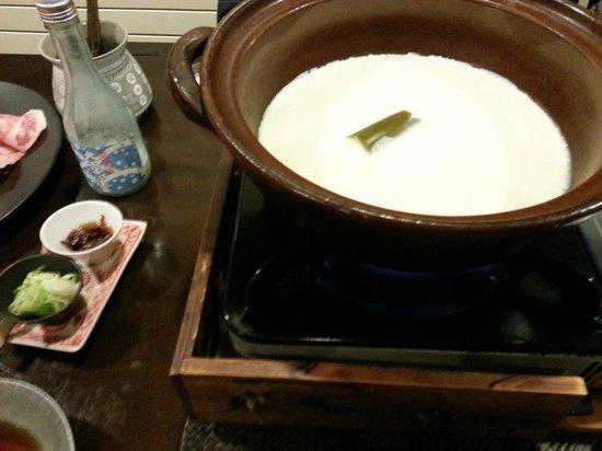 Hakuba Hifumi: Soy Based Broth for shabu shabu