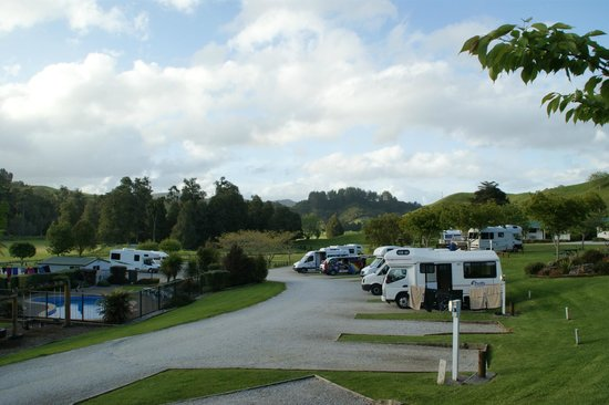 Waitomo Top 10 Holiday Park: VISTA DEL CAMPING