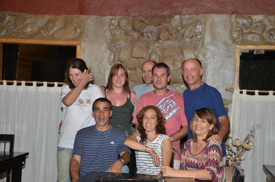 Complejo Turistico Los Molles: Todos en el restauran