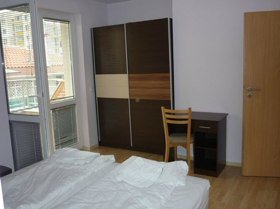 Block 531 Aparthotel: bedroom 2nd floor:simple and comfortable